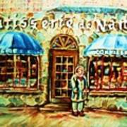 Nancys Fine Pastries Art Print