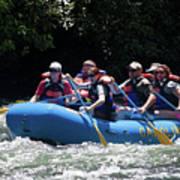 Nantahala River Rafting Art Print