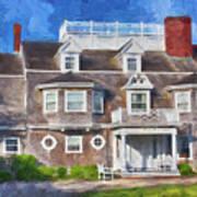 Nantucket Architecture Series 28 Art Print