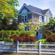 Nantucket Architecture Series 7 - Y1 Art Print