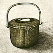 Nantucket Basket Art Print