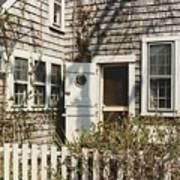 Nantucket Cottage Art Print