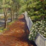 Nantucket Fence Number Three Art Print
