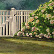 Nantucket Fence Number Two Art Print