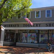 Nantucket Murrays Toggery Shop - Y1 Art Print
