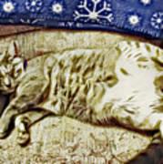 Nap Position Number 16 Art Print