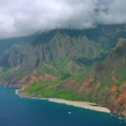 Napali Coast - Kauai Art Print