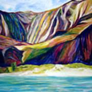 Napali Coast Art Print