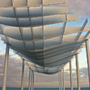 Napier Pier 2016 Art Print