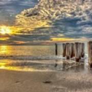 Naples Florida Sunset Art Print
