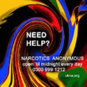 Narcotics Anonymous Poster Art Print