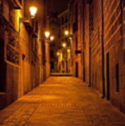 Narrow Alley  Art Print