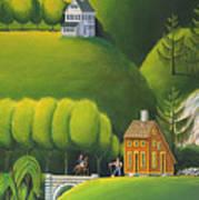 Narrow Foothills Art Print