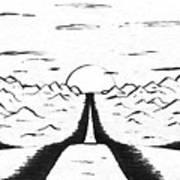 Narrow Gate Art Print