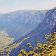 Narrow Neck Katoomba Art Print