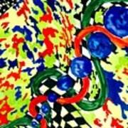 Nascar Art Print