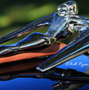 Nash Ambassador Hood Ornament  Art Print