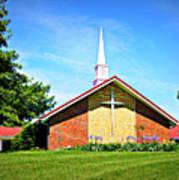 Nashville Baptist Church Art Print
