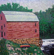 Nashville Gristmill Art Print