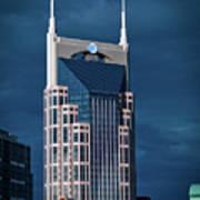 Nashville Landmarks Art Print