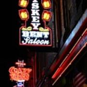Nashville Neon Signs  Art Print