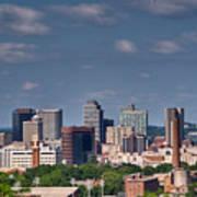 Nashville Skyline 1 Art Print