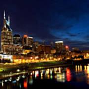 Nashville Skyline Print by Mark Currier