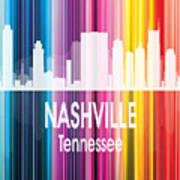Nashville Tn 2 Vertical Art Print