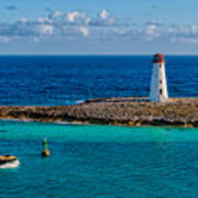 Nassau Harbor Lighthouse Art Print