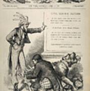 Nast: Civil Service Reform Art Print
