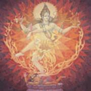 Nataraja Shiva Art Print