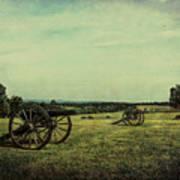 National Battlefield Park - Manassas Va Art Print