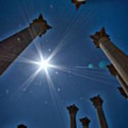 National Capitol Columns #2 Art Print
