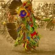 National Championship Pow Wow - Grand Prairie, Tx Art Print