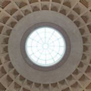 National Gallery Of Art Dome Art Print