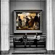 National Gallery Of Art Interiour 3 Art Print