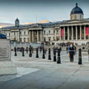 National Gallery Trafalgar Square Art Print