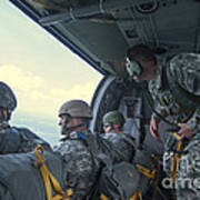 National Guard Special Forces Await Art Print