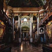National Library, Vienna Art Print