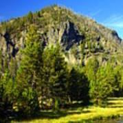National Park Mountain Art Print