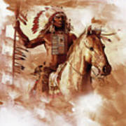 Native American 093201 Art Print