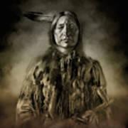 Native American Chief-scabby Bull 2 Art Print