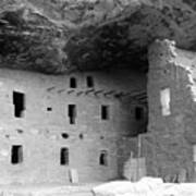 Native American Dwellings Art Print