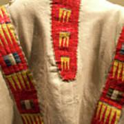 Native American Great Plains Indian Clothing Artwork 09 Art Print