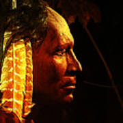 Potawatomi Chief Art Print