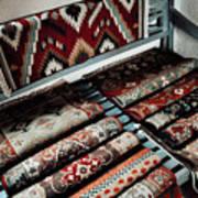 Native American Rugs Art Print