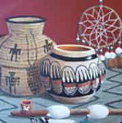 Native Artifacts Art Print