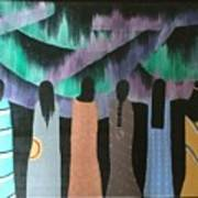 Native Northern Lights Moments Art Print
