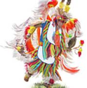 Native Rhythm Art Print