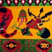 Native Tapestry Art Print